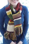DR. WHO Hand Knit Scarf